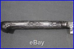 Antique Ottoman Caucasian bichaq dagger Caucasus, Balkans, 1826