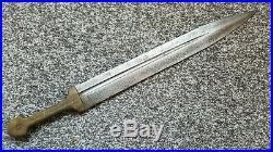 Antique Ottoman Islamic Caucasian Kinjal Dagger Knife Sword Bovine Bone Grip