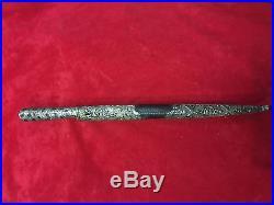 Antique Ottoman Turkish Persian Russian Caucasian Balkan Silver Dagger No Sword