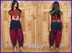 Antique Pakistan Afghan nuristan kohistan Hose jumlo women trousers pants No-5