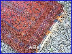 Antique Persian Islamic Baluch Rug