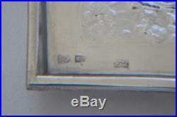 Antique Persian Silver Box, Hallmarked'84