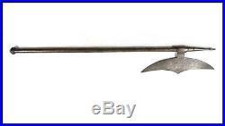 Antique Qajar era Persian axe tabarzin NICE RARE LOOK n sword shamshir dagger