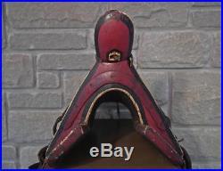 Antique Russian Cossack Islamic Caucasian Saddle to sword Shashka Kindjal