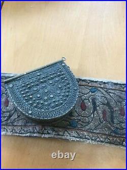 Antique Silver Yemeni jambiya (sword dagger kanjar) Yemen