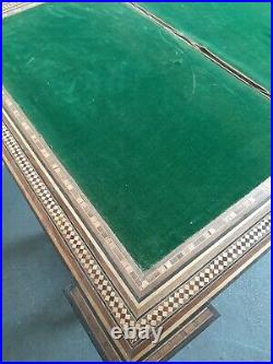 Antique Syrian Side Table Games Table