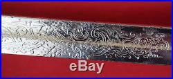 Antique Turkish Ottoman Balkan Military Officers Sword