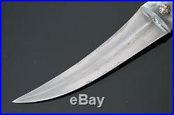 Antique Turkish Ottoman balkan greek oriental arabic Jambiya khanjar dagger old