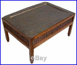 Antique Very Rare Islamic Silver Copper Inlaid Plate table Mamluk Cairoware Tray