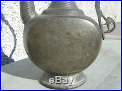 Antique Vintage Bronze Persian Indian Flagon