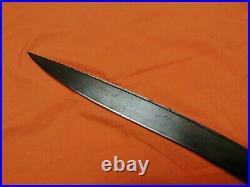 Antique Yatagan Sword Türkish Iron Antique Arabic Indones shamshir saber DATED