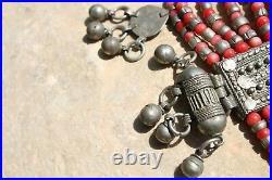 Antique Yemenite Filigree silver Necklace Islamic Bridal Ethnic