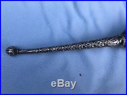 Antique ceremonial torch, silver, possibly Islamic, Persian, oriental