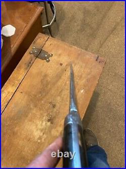 Antique islamic Afghan Khyber Knife Straigh Blade Short sword Dagger Jihad sword