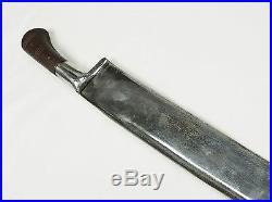Antique islamic Afghan Khyber Knife Straigh Blade Short sword Dagger Messer KH-1