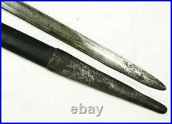Antique islamic Afghan Khyber Knife Straigh Blade Short sword Dagger Messer KH-4