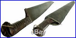 Antique islamic Afghan Khyber Knife Straigh Blade Short sword Dagger Messer KH-7