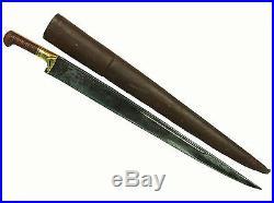 Antique islamic Afghan Khyber Knife Straigh Blade Short sword Dagger Messer KH-8