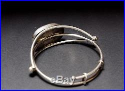 Antique islamic Silver Carnelian Bracelet Antik orient Silber Karneol Armreif