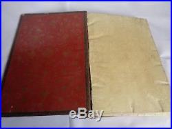 Antique islamic manuscript arabic book. Naskhi script. Book of the Merchant