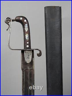 Antique islamic sword sabre shamshir Khyber Knife Säbel schwert Afghanistan KH15