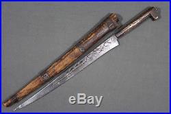 Antique kabyle Algerian flyssa (flissa) dagger Algeria 19th early 20th century