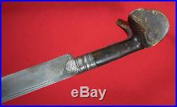 Antique late 18th, early 19th, c. Turkish Balkan Yataghan Sword