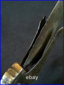 Antique medieval Babur Mughal Empire talwar sword, 1600', 32 inches