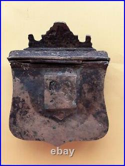 Antique ottoman gun powder, cartridge belt box