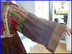 Antique/vintage Afghanistan ethnic traditional dress costume nomad
