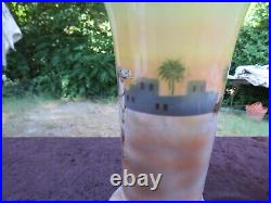 Antiques Royal Bayreuth Vase With Middle Eastern Themed Arab Motaif