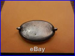 Arabic islamic middle east stone silver amulet antique unknown origin #