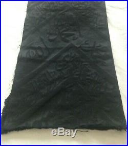 Certified Kiswa Kaaba Cloth Textile 100 x 35 Mecca Kabah Oud Hajj Umrah Last 2