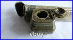 DIVIT. Antique copper brass Pen Case (Divit). XIXth C. Ancien divit