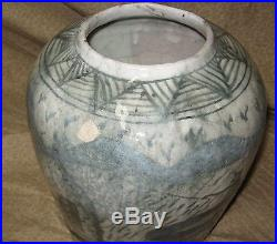 Early Antique Persian Islamic Middle Eastern Ceramic Pottery Jar