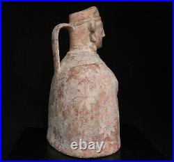 Early Persian Figural / Figure Pottery Ewer