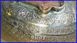 Exceptional Antique Persian Beggar's Bowl Kashkul Museum Piece! Now on SALE