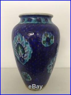 Extremely Rare Armenian Palestine Jerusalem Pottery Vase Signed By Ohannesian