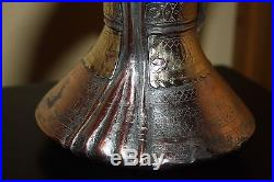 Extremely rare 18th century Very Antique Dallah Coffee Pot Middle East Bedouin