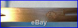 FINE, Massive Old Antique Persian Shamshir Sword withArab or Indian Mounts /dagger