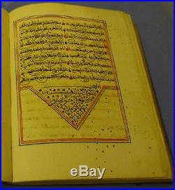 Fantastic Islamic Manuscript Dalayel Khayrat 1306 Ah (1888 Ad)