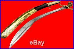 Fine 18th C. Islamic Turkish PALA / Kilij / Shamshir Sword with Damascus Blade