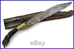 Fine Quality 19th C. Asian Sri Lanka PIHA-KAETTA Dagger