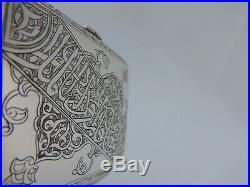 For Persian Market Rare Austrian Sterling Silver And Enamel Vesta Cigarette Case