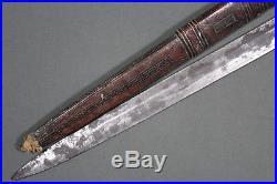 Interesting and rare Tuareg sword with nimcha style 19th century