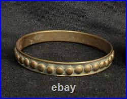 Islamic Antiques, Middle Eastern Bedouin Bracelets, 1980-1920 Lot 3 Pieces