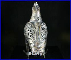 Islamic Mamluk Revival Bird Form Incense Burner