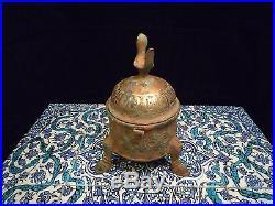 Islamic/ Middle Eastern, Oriental Ancient Khorasan Incense Burner 11th C. REDUCED