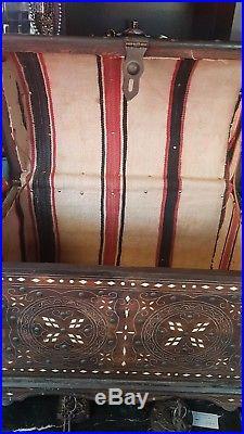 Islamic middle eastern inlay box