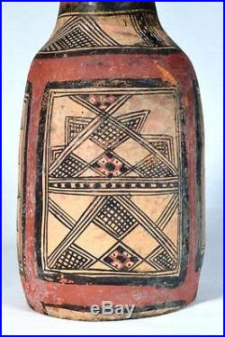 Kabyle Berber Pottery Bottle Ex-V&A Museum Collected in Algeria in 1868